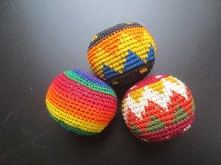 3 balles de jonglages colorées (Multicolore)