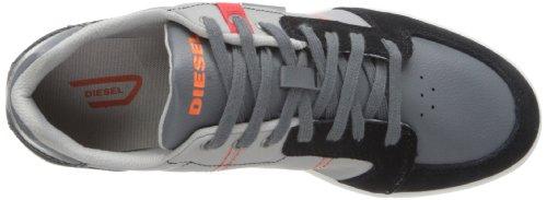 Diesel Mens Eastcop Hutsky Fashion Sneaker Castlerock / Paloma