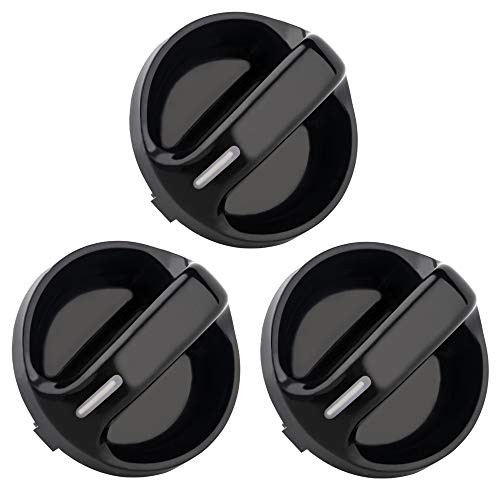 AC Climate Control Knobs for Toyota Tundra - Replacement for the Part# 55905-0C010, Air Conditioner Heater Control Switch Knob for 99 00 01 02 03 04 05 06 Toyota Tundra, Pack of 3 ()