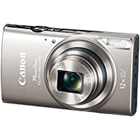 Canon PowerShot ELPH 360 HS (Silver) with 12x Optical...