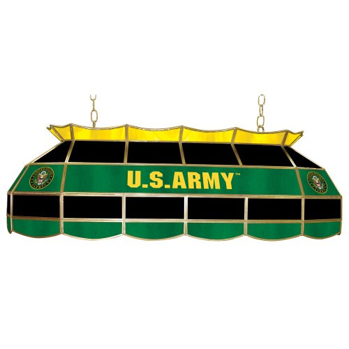 United States Army Tiffany Gameroom Lamp, 40