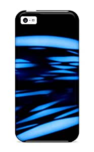 Hot Tpu Cover Case For Iphone/ 5c Case Cover Skin - Blue Abstract Other