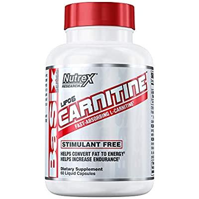 Nutrex Lipo 6 Carnitine, 60 Count