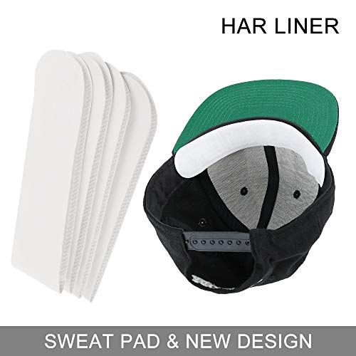 Golf Hat Liner & Cap Protection - Prevent Hat Stains Rings Moisture Wicking, Headband, Sweatband, Baseball,Tennis,Hunting Hat Saver & Protection, Prevention, Cooling Towel Effect