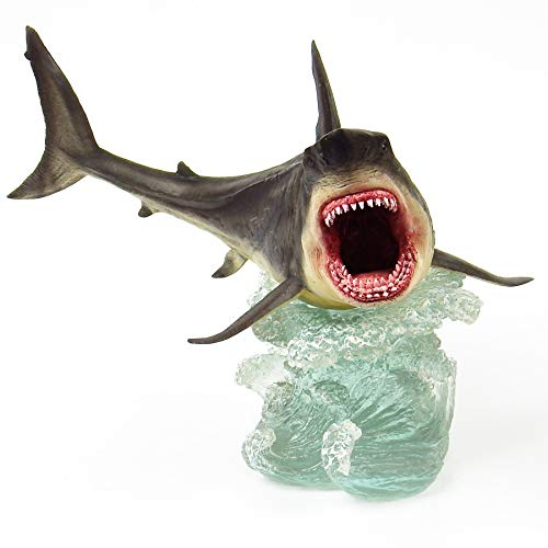 Megalodon Toy Shark Statue Figurine The MEG Paleontology Collectibles Oceanic Nautical Display by GemShark Collectiobles (Image #1)