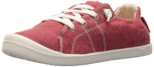 - Roxy Women's Bayshore Slip on Shoe Sneaker Red, 9.5