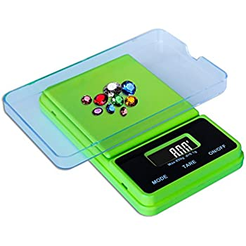 Weighmax NJ650-Green Dream Series Digital Pocket Scale, 650 by 0.1 g, Green