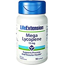 Life Extension Mega Lycopene Extract 15 Mg, 90 softgels