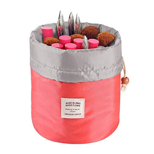 Travel Cosmetic Bags Barrel