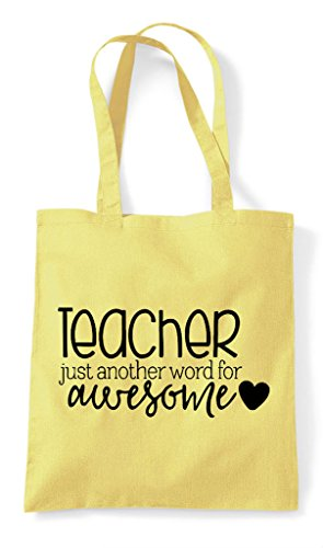 Word Bag Tote For Another Lemon Awesome Teacher Shopper pvfAqc