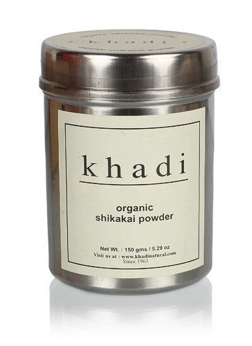 Khadi Organic Shikakai Powder - 150 gm by Khadi Natural