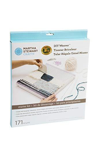 Wooden Loom - Lion Brand Yarn 5002-200 Martha Stewart Crafts DIY Weaver Starter Kit