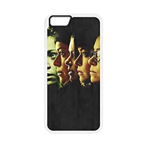 Orphan Black Who am I iPhone 6 4.7 Inch Cell Phone Case White xlb-190631
