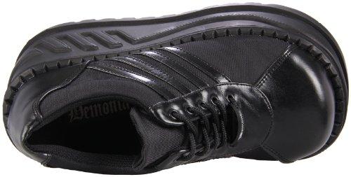 Lacets Vegan Chaussures Pleaser 08 à Noir Stomp Leather Blk Femme R4xZwqvxI