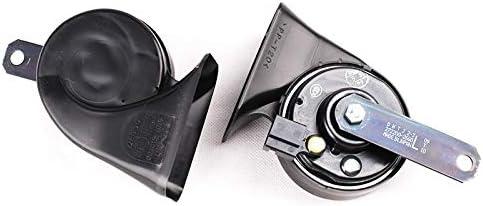 Car Claxon Corni Air Horn impermeabile universale interfaccia originale qualit/à 12V forte Lumaca singolo inserto auto clacson 8670 12V