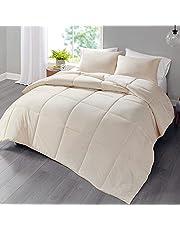 Hyde Lane 100% Polyester Solid Comforter Set