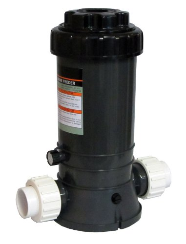 New Automatic Chlorinator for Above Ground and In-Ground Pools In-Line 9 Lbs with fittings