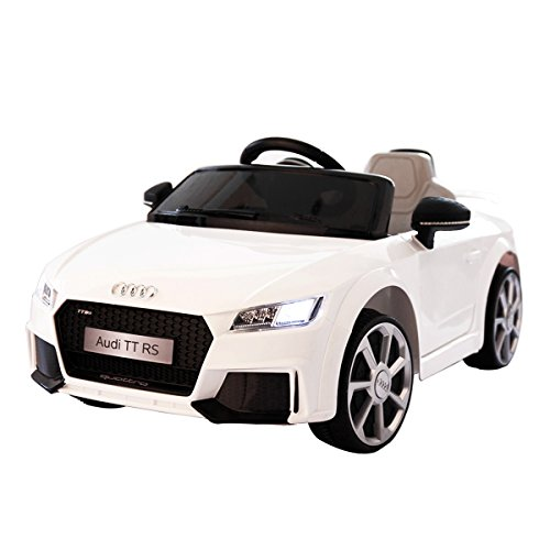 JAXPETY Audi TT 12V Electric Kids Ride On Car Licensed MP3 L