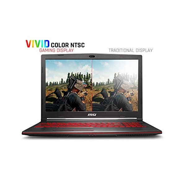 MSI GL63 8RCS-060 Gaming Laptop, Intel Core i5 with Microsoft Office Home and Student 2019 3