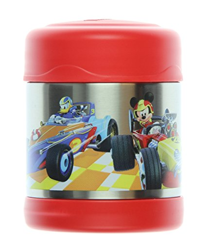 Thermos Funtainer 10 Ounce Food Jar, Mickey Mouse Roadster Racers