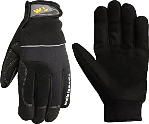 Wells Lamont Synthetic Leather Work Gloves, Insulated, Medium (7740M)