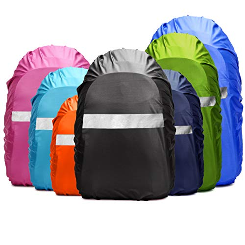 Dream Lin Backpack Rain Cover (10-90L) Upgraded Waterproof Backpack Cover  with Adjustable de816e1d29