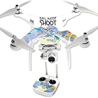 Skin For DJI Phantom 3 Professional – Eat Sleep Shoot | MightySkins Protective, Durable, and Unique Vinyl Decal wrap cover | Easy To Apply, Remove, and Change Styles | Made in the USA