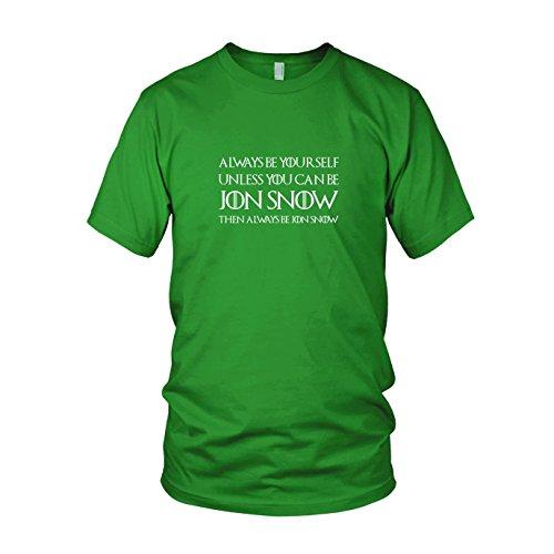 Always be Jon Snow - Herren T-Shirt, Größe: M, Farbe: