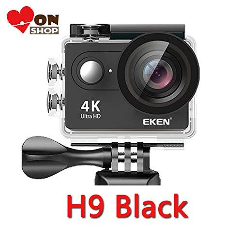 Monshop Original EKEN Action Camera eken H9R / H9 Ultra HD 4K WiFi Remote Control Sports Video Camcorder DVR DV go Waterproof pro Camera (H9 Black, Option 2)
