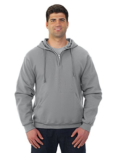 Quarter Zip Mens Sweatshirt - 6