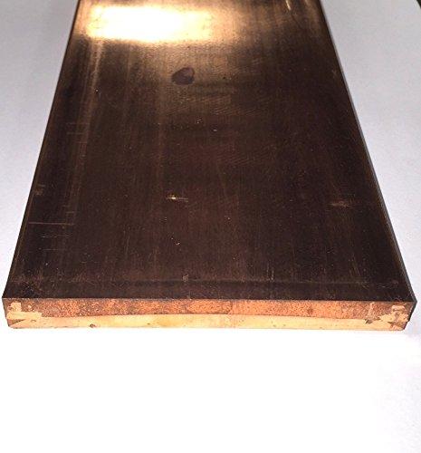 C110 Copper Bar - 1/2'' x 4'' x 24'' by Taurus Copper