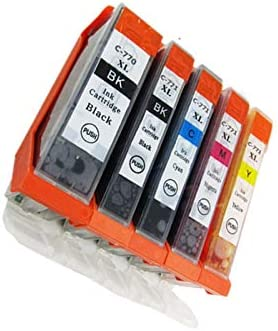 No-name Compatible Ink Cartridge Replacement for Canon PGI225 PGI 225 XL CLI-226 PGI-225 PGI-225XL Pixma MG5220RFB MG5320 MG6110 MG6120 Inkjet Printer 1 Set 5 Color + 1 Black