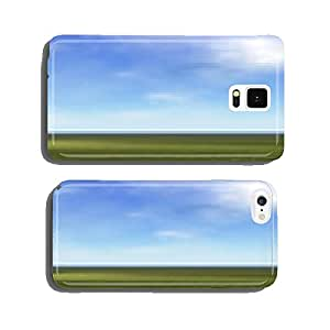 Wheelchair in nature - 3D render cell phone cover case Samsung S6