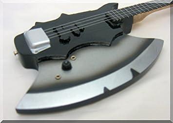 gene simmons miniature mini guitar bass kiss axe