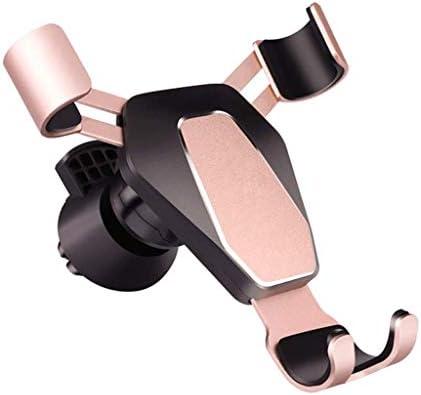 人間の特徴をもつ車の電話ブラケット、安定した出口の携帯電話ブラケット車のブラケット360°スマートな電話GPSブラケットの金のために調節可能
