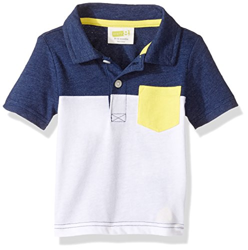 Crazy 8 Baby Boys Color Block Jersey Polo