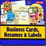 Business Cards, Labels & Resumes