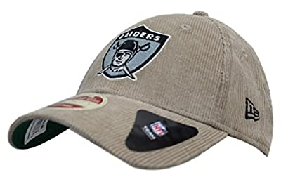 "Oakland Raiders New Era NFL 9Forty ""Historic Team Cord"" Adjustable Hat from New Era"