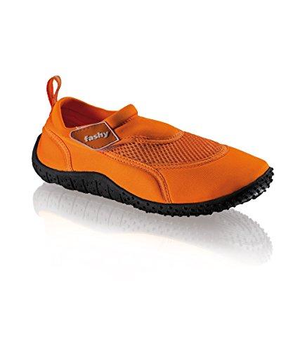 Damen Outdoor Aquaschuh Arucas mit Klettverschluss, orange, Größe 38