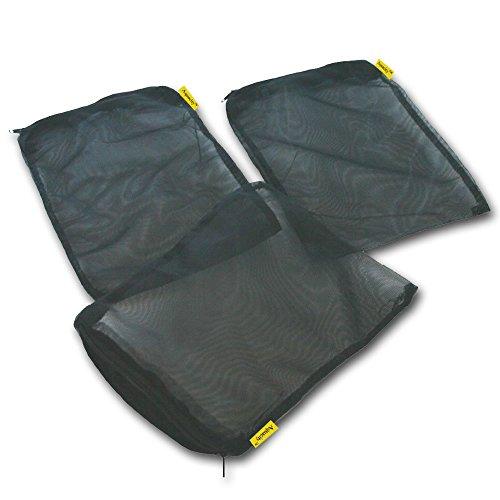 Aquapapa Filter Media Bags for Aquarium Pellet Carbon, Bio Balls, Ceramic Rings, Ammonia (Aquarium Carbon)