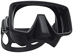 The Scuba frameless Gorilla dive mask has a slightly larger and wider lens than the original frameless mask, making it an excellent choice for divers with larger or wider faces. An extra-large single lens design provides an expansive field of...