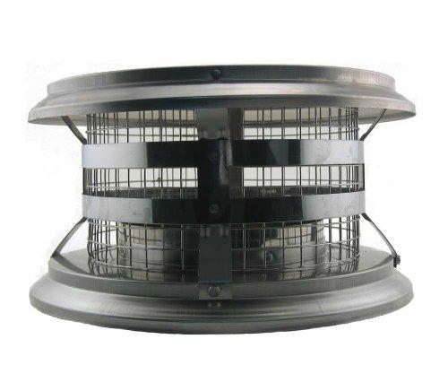 Prefabricated Chimney - M&G DuraVent 10DCA-VC Durachimney Ii Chimney Cap, 10