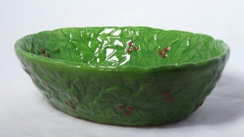 """Martha Stewart Collection Dinnerware, 12"""" Holiday Garden ..."""