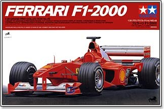 #20049 Tamiya Ferrari F1 -2000 1/20 Scale Plastic Model Kit,Needs - F1 Models Ferrari