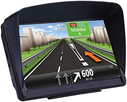 car GPS Navigation,7 Inch GPS for Car Truck with US North America 2020 Latest Maps Lifetime Free Update,Includes Post Code POI Search Speed Camera Alerts
