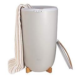 Zadro Ultra Large Towel Warmer, Gray