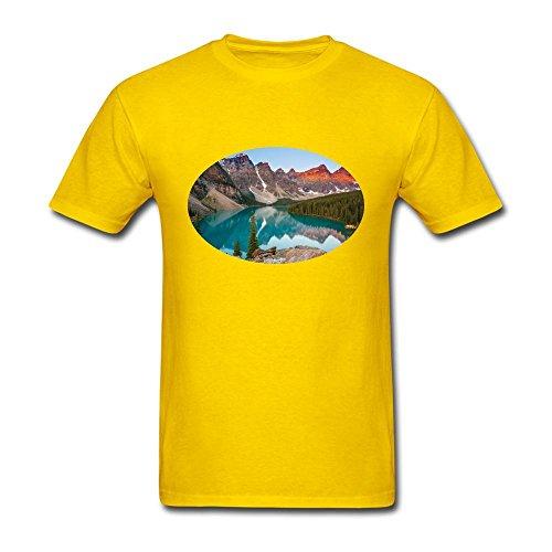 - NYShirt Men's Canadian Rockies Short Sleeve T-Shirt