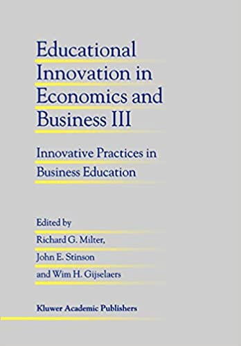 Educational Innovation in Economics and Business III: Innovative Practices in Business Education