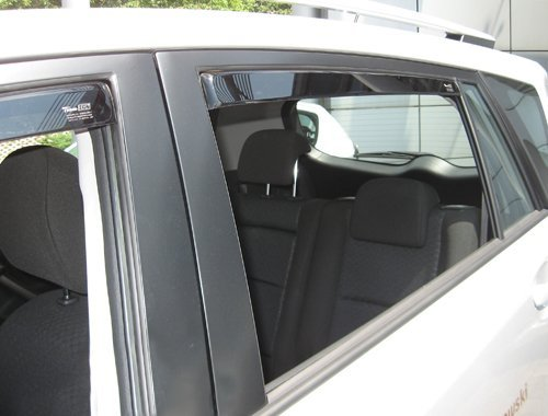 Front Rear Wind Deflectors Fits Toyota AURIS 7 on 5-Door Hatchback 4 Pieces HEKO-29390