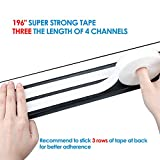 Yecaye Updated Larger Capacity J Channel Cable